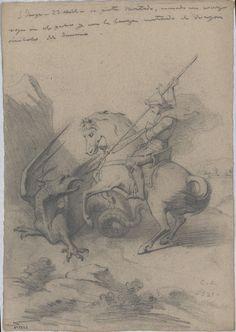 Claudi Lorenzale (Barcelona, 1816-1889) - Saint George. Circa 1850-1870 | Museu Nacional d'Art de Catalunya