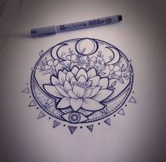 Resultado de imagen para lotus desenho maori