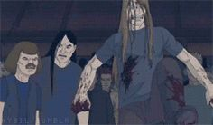 GIPHY is your top source for the best & newest GIFs & Animated Stickers online. Find everything from funny GIFs, reaction GIFs, unique GIFs and more. Toki Wartooth, Metalocalypse, Goth Music, Animation Series, Classic Rock, Movies Showing, First Love, Cartoons, Swim