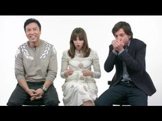 The ROGUE ONE Cast Describes Their STAR WARS Experience in This Adorable Video | Nerdist