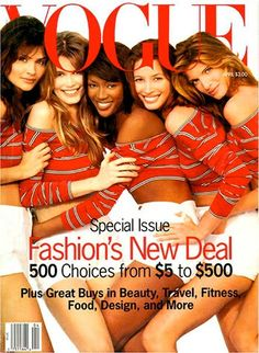 Remembering the 90's & it's Supermodels | One Style At a Time
