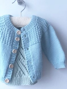 Knit baby vest wool baby tank knitted brown ves by. Baby Knitting Patterns, Baby Cardigan Knitting Pattern Free, Knitted Baby Cardigan, Cardigan Pattern, Knitting For Kids, Baby Patterns, Baby Barn, Diy Bebe, Baby Vest