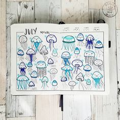 Need inspo for your next mood tracker? Here are 50 cool bullet journal mood tracker ideas you have to try! Bullet Journal Mood Tracker Ideas, Bullet Journal 2019, Bullet Journal Spread, Bullet Journal Ideas Pages, My Journal, Bullet Journal Inspiration, Doodles, Journal Aesthetic, Sketch Notes