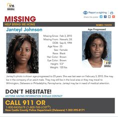 Missing Child, Missing Persons, Eye Color, Hair Color, Danielle Johnson, Five Months Pregnant, Foundation Online, Charley Project, Missing And Exploited Children