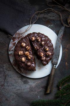 ... chocolate hazelnut bread cake ...