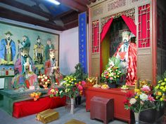 The Confucian Temple in Urumqi, Xinjiang, China, contains many attractive images and exhibits. Urumqi, Temple, China, Painting, Image, Art, Painting Art, Temples, Paintings