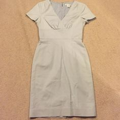 Banana republic work dress 0 petite. Great classic professional look lined, rear zip, dress with some stretch for comfort Banana Republic Dresses