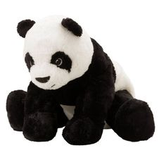 Ikea Soft Toy Panda Bear Plush Stuffed Animal Kramig Size 12 inches Child Kid