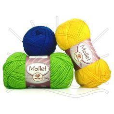 Fio Mollet 100g Lançamento Circulo 2013 Composição: 100% Acrílico Contém: 200m Fabricante: Círculo