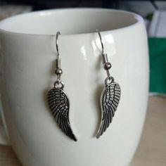 New female angel wings earrings OL style high quality earrings jewelry brand