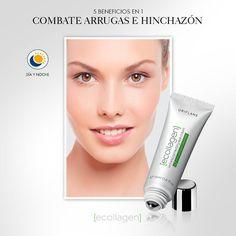 Si sufres de hinchazón y #arrugas, esta crema es la ideal para lograr un #look fresco y rejuvenecedor.