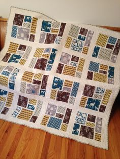 Tatami mat quilt using Westwood by monaluna fabric
