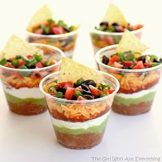 Love these nacho topping cups. One for everyone with a - recipes4busymummas @ Instagram Web Interface - 5th village