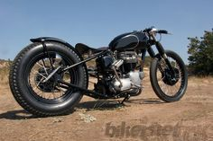 1968 triumph trophy bobber | quality custom cycles