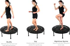 10-Minute Mini Trampoline Workout | Cellercise with Dave Hall