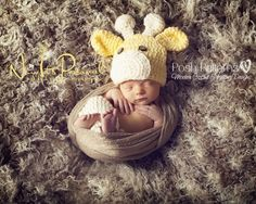 Crochet Pattern Giraffe Hat | Giraffe Beanie | Sizes Baby to Adult