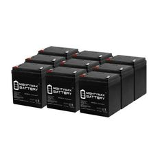 12V 12Ah F2 Amigo Mobility PVT 450 Wheelchair Replacement Battery Set