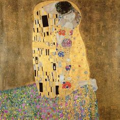 The Kiss (1907)  Gustav Klimt