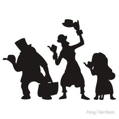 """Haunted Mansion Hitchhiking Ghosts T-shirt & iPad Case"""" Stickers ..."""