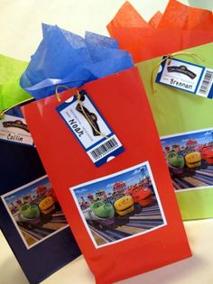 Chuggington Party Favors