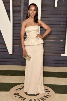 Kerry Washington. See what all the stars wore to the Academy Awards' biggest after party.