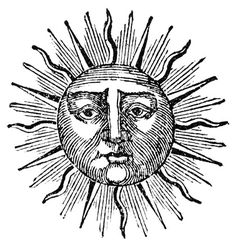 Le soleil | The Sun (2)| graphic representation in history of arts and cultures | design et typo