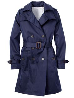 The right trench coat if you're busty: Small lapels don't add bulk. Joe Fresh, $79; joefresh.com for locations. Sizes XS to XL.