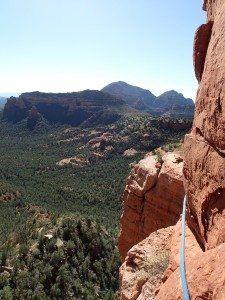 Goliath Rock Climbing, Sedona AZ