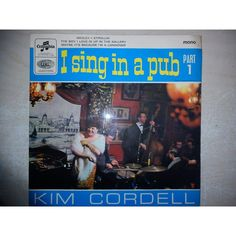 "7"" 45RPM I Sing In A Pub Part 1 EP by Kim Cordell from Columbia"