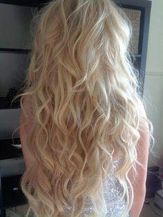 blonde waves...