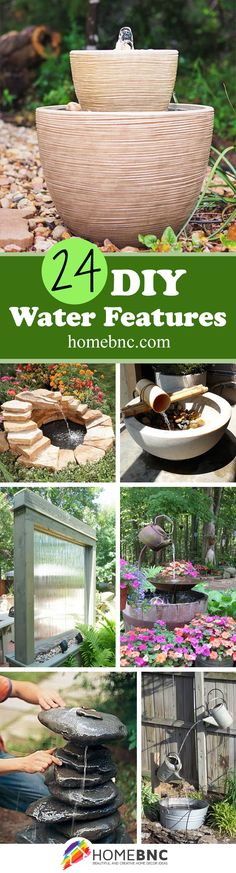 DIY Water Feature Projects