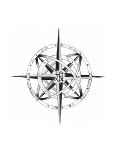 Compass Tattoo- I like the idea of a more rustic compass guiding NW with the coordinates underneath
