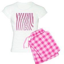 Buy this Wild Pink Love Monogrammed Pajamas