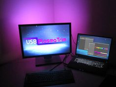 USB PlasmaTrim: Controllable LED Accent Lighting by The Photon Factory, via Kickstarter.