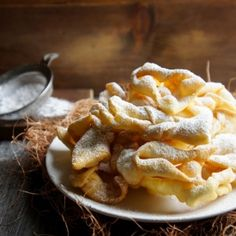 These fried pastries are very popular in Russia. Super crunchy, soft, and slightly sweet.