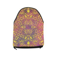 magic mandala Crossbody Bag/Large (Model 1631)