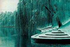 River Ljubljanica at Trnovo, Ljubljana - Slovenia - one of my favourite places in Ljubljana. Architecture Artists, Landscape Architecture, University Of Melbourne, Australian Architecture, Beautiful Places To Visit, Our Lady, Amazing Photography, World, Nature