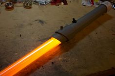 Custom lightsaber out of PVC pipe