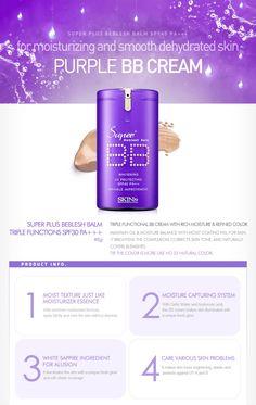 Skin79 Super Plus BB Cream SPF40 PA++ (Purple) 40G