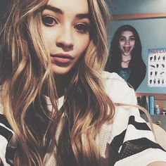 Photo: Sabrina Carpenter With Rowan Blanchard December 10, 2014