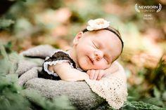 #newborn #outdoor #Girl