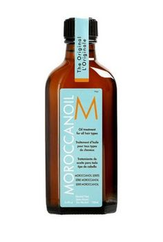 Moroccan Argan Oil. Smells amazing. Works like magic on anyone's hair.