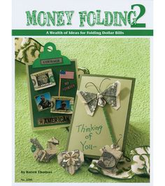 This book is the second edition on Folding Dollar Bills. Make a Happy Birthday Fan, a bird, Christmas tree, a floating dragon and much more. With 18 featured projects, you are sure to have hours of fu