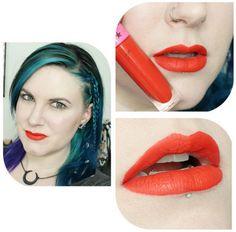 Jeffree Star Velour Liquid Lipstick in Anna Nicole - #redlips #redlipstick #jeffreestar #liquidlips #phyrra - Bellashoot.com (iPhone, iPad & web)