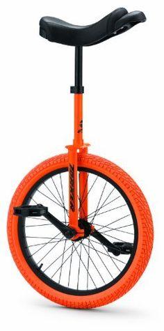 Torker Unistar LX Unicycle 20 Inch, Orange -