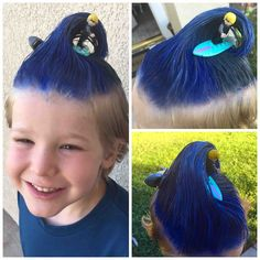 Funny Photo of the day for Thursday, 24 September 2015 from site Jokes of The Day - Crazy hair day - doing it right