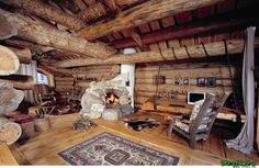 """деревянные интерьеры спальни фото » Фото журнал для дома """"Дизайн и Идеи"""""""