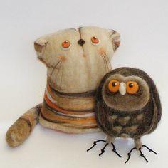 artesanía de lana de fieltro - Поиск в Google