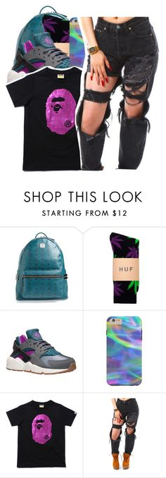 """""""Candy x Dillon Francis"""" by shilohluvsu ❤ liked on Polyvore featuring MCM and NIKE"""
