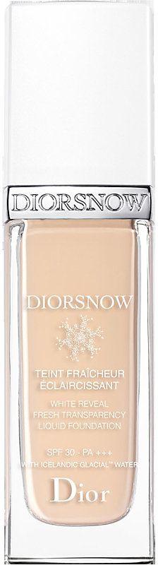 Dior Diorsnow White Reveal Fresh Transparency Liquid Foundation SPF 30 PA+++